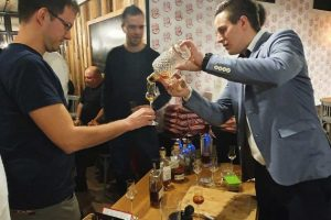 Rumová degustácia Srdcovka Urban Pub