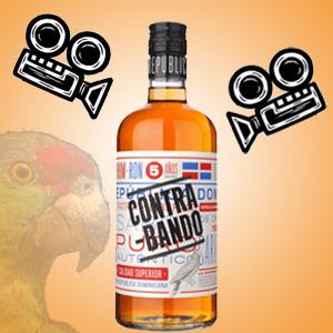 Rum Contrabando s papagajom a video kamerou