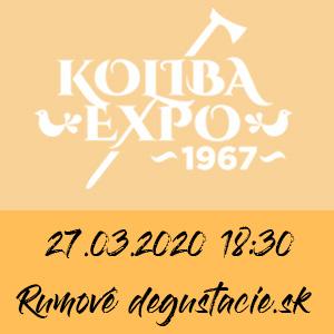 Rumová degustácia Koliba Expo