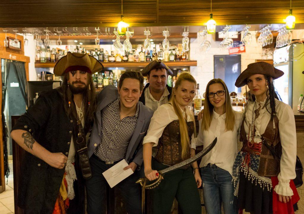 rumova degustacia s piratmi, pirati a rum