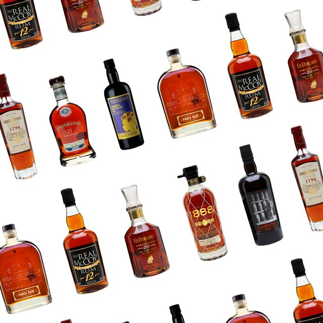 Veľa druhov rumu