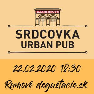Rumová degustácia Urban Pub