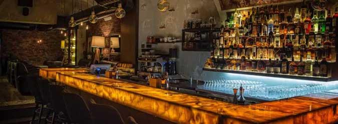 Krásny bar s fľašami, Cuba Libre Bratislava