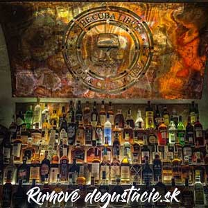 Bar s rumom Cuba Libre